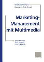Marketing Management mit Multimedia PDF