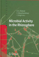 Microbial Activity in the Rhizosphere PDF