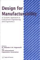 Design For Manufacturability PDF