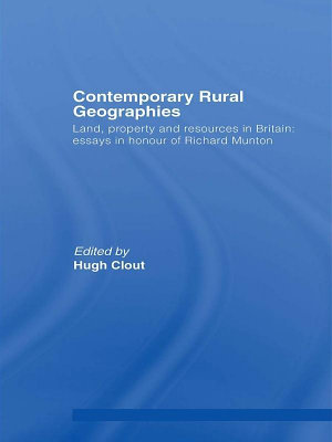Contemporary Rural Geographies PDF