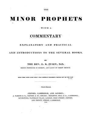 The Minor Prophets PDF