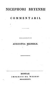 Commentarii: Recognovit Augustus Meineke
