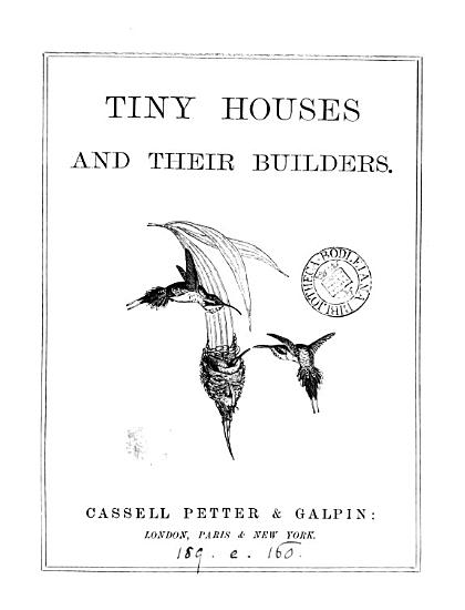 Tiny Houses and Their Builders PDF