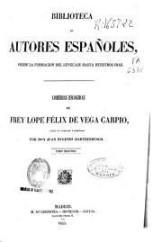 Comedias escogidas de Frey [sic] Lope Félix de Vega Carpio: Volumen 2
