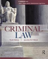 Criminal Law: Edition 10