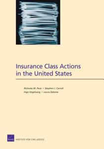 Insurance Class Actions in the United States PDF