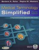 Medical Terminology Simplified   Audio Cd   Term Plus 3 0   Learnsmart Medical Terminology PDF