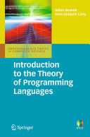 Introduction to the Theory of Programming Languages PDF