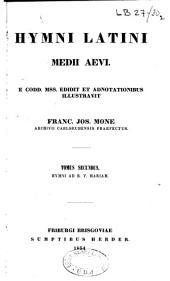 Hymni latini medii aevi