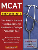MCAT Prep 2018 2019 PDF