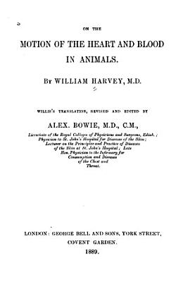 On the Motion of the Heart and Blood in Animals PDF