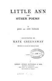 Little Ann, and other poems, by J. and A. Taylor