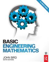 Basic Engineering Mathematics  6th ed PDF