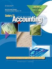 Century 21 Accounting: General Journal, Introductory Course, Chapters 1-16, 2012 Update: Edition 9