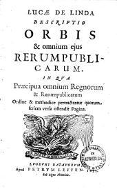 Descriptio orbis & omnium ejus rerum publicarum