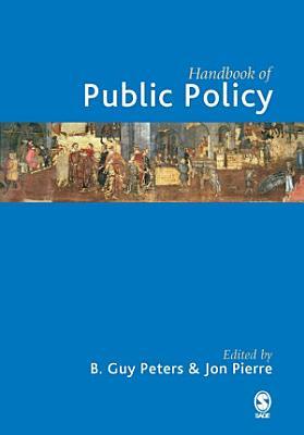 Handbook of Public Policy PDF