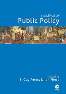 Handbook of Public Policy Book