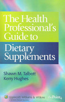 The Health Professional s Guide to Dietary Supplements PDF
