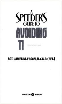 A Speeder s Guide to Avoiding Tickets PDF