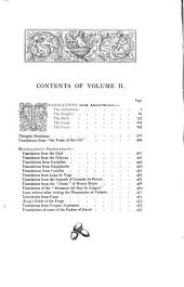 The Works of John Hookham Frere in Verse and Prose: Volume 1