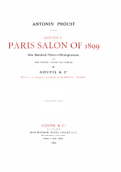 Paris Salon of 1899