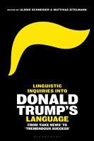 Linguistic Inquiries into Donald Trump   s Language PDF