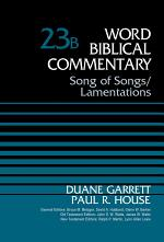 Song of Songs and Lamentations, Volume 23B