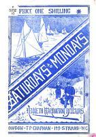 Saturdays to Mondays PDF