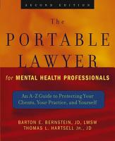 The Portable Lawyer for Mental Health Professionals PDF