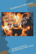 United Nations Organization Assessment PDF