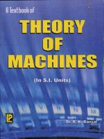A Text Book of Theory of Machines PDF