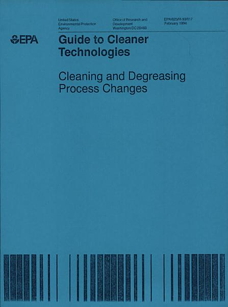 Guide To Cleaner Technologies