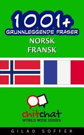 1001+ grunnleggende fraser norsk - fransk