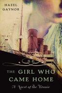 The Girl Who Came Home PDF