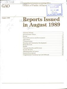 Reports Issued in     PDF