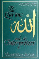Qur an and Its Interpreters  The  Volume 1 PDF