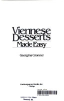 Viennese Desserts Made Easy