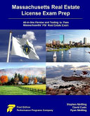 Massachusetts Real Estate License Exam Prep  All in One Testing and Testing to Pass Massachusetts  PSI Real Estate Exam PDF
