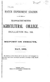 Report on Insects