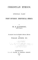 Christian Ethics       General part   Tr  from the Danish     by C  Spence   1871  PDF