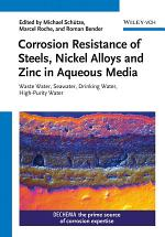 Corrosion Resistance of Steels, Nickel Alloys, and Zinc in Aqueous Media