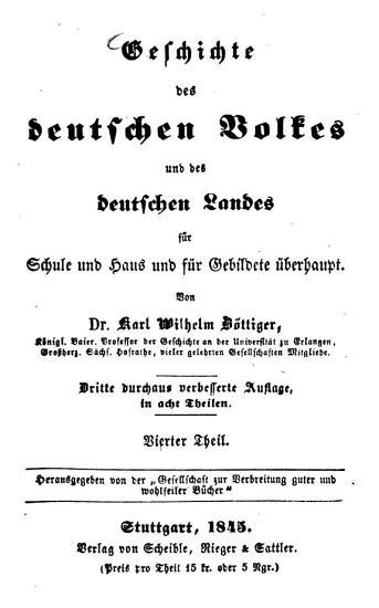 Geschichte des deutschen Volkes und des deutschen Landes f  r Schule und Haus und f  r Gebildete   berhaupt PDF