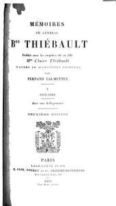 Mémoires du général Bon. Thiébault: Volume5