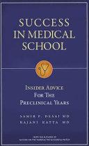 Success in Medical School PDF