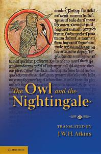 The Owl and the Nightingale Book