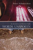 Words Unspoken PDF