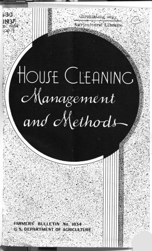 House Cleaning Management and Methods