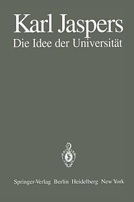 Die Idee der Universit  t PDF