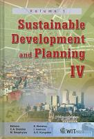 Sustainable Development And Planning Iv