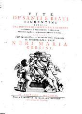 Vite de Santi e Beati Fiorentini